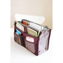 Dual Bag in Bag Organizer Model Korea Tas dalam tas [HHM024]