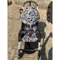 STROLLER YOYA MICKEY MINNIE CARTOON FREE FOOTREST YOYA ORIGINAL NEW BORN 175