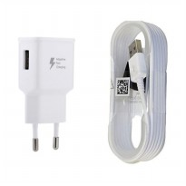 Samsung Travel Charger 15W for Galaxy S6 / Note 4 Fast Charging - Putih - Free Waterproof