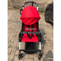 STROLLER YOYA RED YOYA MERAH FREE FOOTREST ORIGINAL NEW BORN 175
