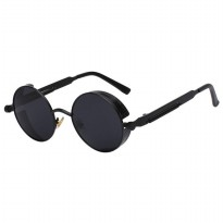 Kacamata Wanita Steampunk Polarized - Black