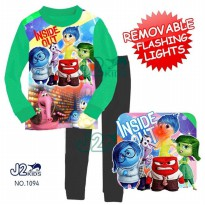 J2 lighting pajamas 1094 inside out disgust