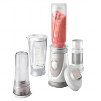 Philips Mini Blender Daily HR2874 With on the Go Bottle - Putih