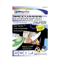 BLUEPRINT Transfer Paper Dark 160 Gsm A3 [BP-TKA3160]