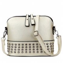 KGS Tas Selempang Mini Wanita / Studded Mini Sling Bag | Bahan PU Leather