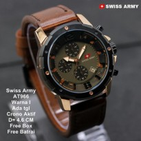 Jam Tangan Pria / Jam Tangan Murah Swiss Army Gladiator Fashion Nine
