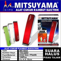 Alat Cukur Rambut Elektrik Hair Trimmer Set Mitsuyama MS-5022