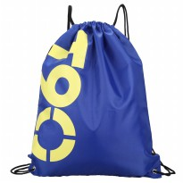 Tas Ransel Serut Drawstring Model Sport - Dark Blue
