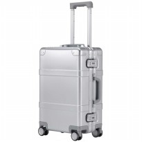 Xiaomi RunMi 90 Points Smart Metal Suitcase Koper 20 inches - Silver