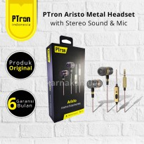 Pop Up PTron Aristo Headset Stereo with Mic