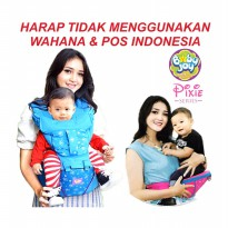 (Star Product) Gendongan Bayi Hipseat Pixie Series - Baby Joy BJG 3020