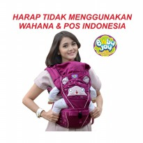 [Ready] Gendongan Bayi Depan Baby Joy - Hipseat Melody Series