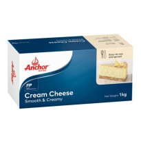 KEJU ANCHOR CREAM CHEESE 1kg,-