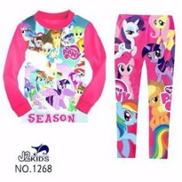 J2 PAJAMAS 1268 MY LITTLE PONNY(small cutting)