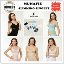 [Free Ongkir] JAPAN MUNAFIE SLIM CLOTH CAMI SHARPER / Munafie Slimming Singlet