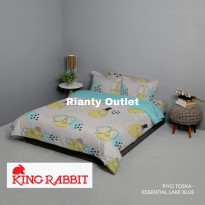 Piyo Tosca - Sprei 160/180 + Bed Cover 230 -  Full Set King Rabbit