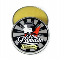 King Pomade Ukuran Medium 2.8 oz Medium Hold Aroma Lemon (FREE SISIR)