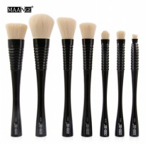 MAANGE Kuas Make Up Profesional 7 PCS - MAG9306 - Black