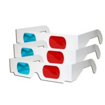 [macyskorea] EasiLife 5 pairs 3D Glasses - Red and CYAN Anaglyph, White Multipack/18902649