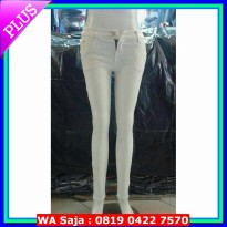 (Recommended) white jeans skinny / jeans putih