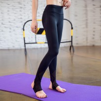 Celana Legging Gym Fitness Yoga Wanita - Size L - Black