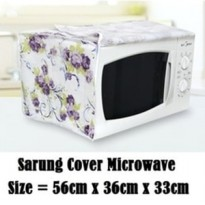 Sarung Cover Oven Microwave Waterproof PEVA Penutup Anti Gores Duster