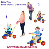 Sepeda Little Tikes Learn to Pedal 3 in 1 Trike