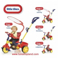 Sepeda Little Tikes 4 in 1 Trike Primary