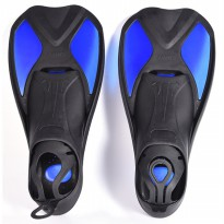 Comfortable Kaki Katak Swimming Fin Diving Size 40-41 - Blue