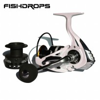 Fishdrops HB4000 Reel Pancing 13 Ball Bearing - White