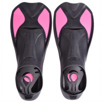 Comfortable Kaki Katak Swimming Fin Diving Size 36-37 - Pink