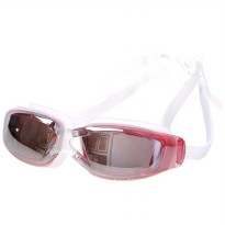 Kacamata Renang Anti Fog UV Protection Dewasa - Pink