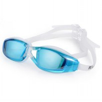 Kacamata Renang Anti Fog UV Protection Dewasa - Sky Blue