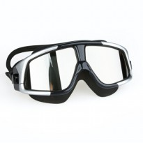Kacamata Renang Polarizing Anti Fog UV Protection - GOG-300 - Silver Black