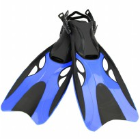 Kaki Katak Swimming Fin Diving Size 37-41 - WJ0314 - Blue