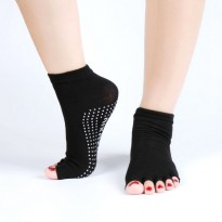 Kaos Kaki Yoga Anti Slip - Black