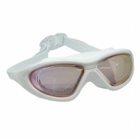 Ruihe Kacamata Renang Big Frame Anti Fog UV Protection - RH9110 (backup) - Red