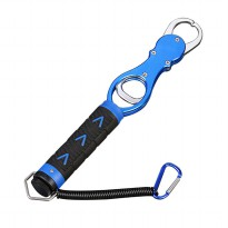 Tang Pancing Portable Fish Lip Gripper Alumunium - Blue