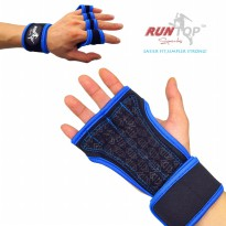 Runtop Sarung Tangan Gym Weight Lifting Glove Support - Size M - Blue