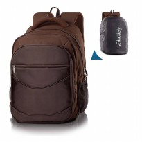 Tas Laptop Free Rain Cover Backpack Casual LJB667