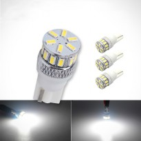Lampu Mobil LED T10 W5W 18 SMD 3014 2PCS - White