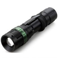 Senter LED Mini XPE 320 Lumens - W-36 - Black