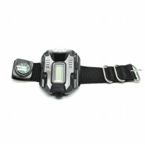 Senter LED Jam Tangan CREE XPE Q5 R2 - Black