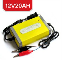 Electric Car Charger 12V20AH - Yellow