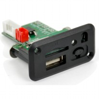 Modul Tape Audio MP3 Player Mobil dengan USB dan TF Card Slot - Black