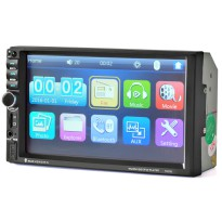 MP5 Media Player Monitor Mobil LCD Touchscreen 7 Inch - Black