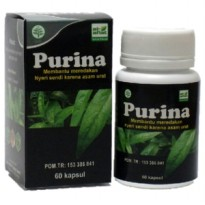 Kapsul Purina Al Afiat - Herbal Asam Urat