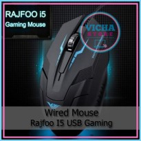 Wired Mouse - Rajfoo i5 - USB Gaming Optical 1600 DP