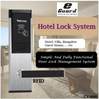 CX-1808 E-Guard Management Kunci Pintu Hotel Door Lock System