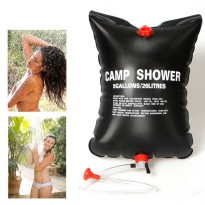 Camp Shower Bag 20 Litres / Tas Air - Black